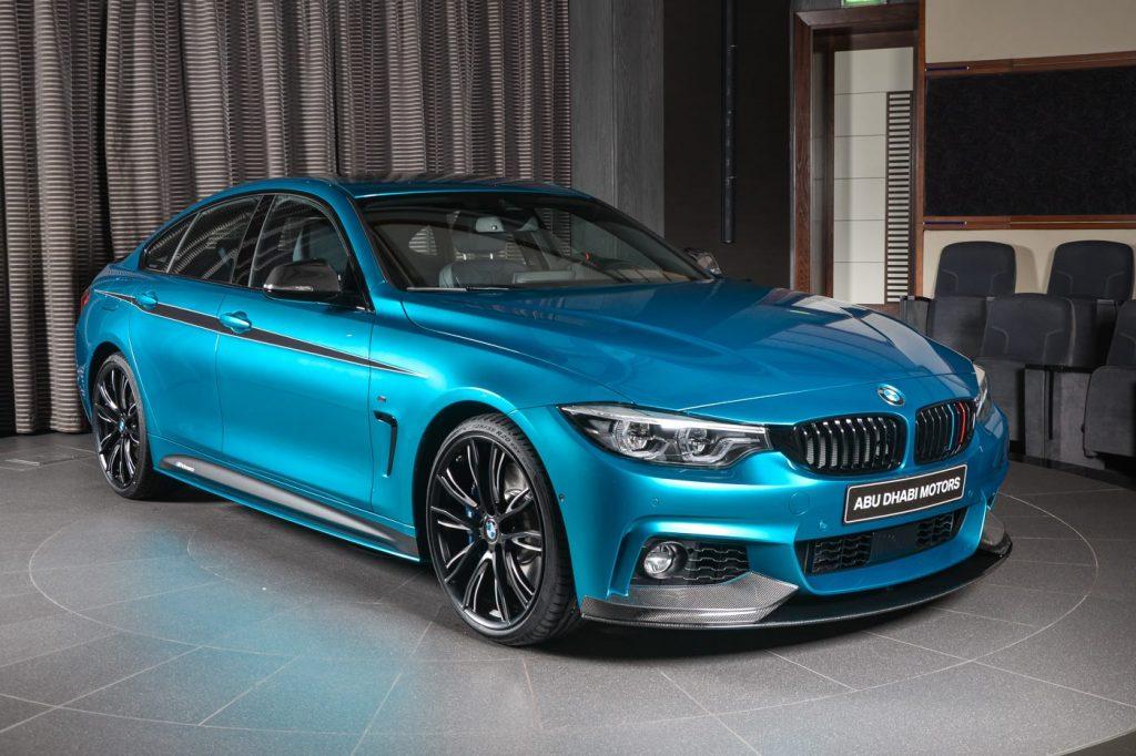 BMW представил обновленную модель Gran Coupe 4 Series